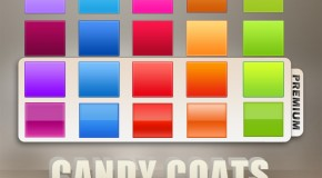 Photoshop Layer Style: Candy Coats