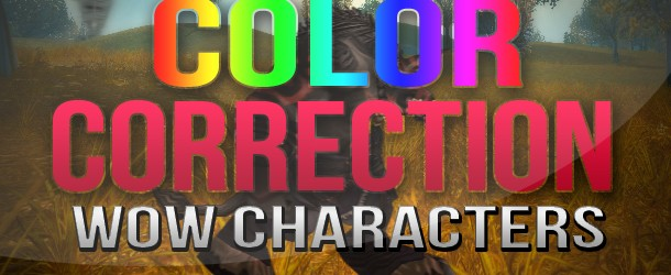 After Effects: Color Correcting WoW Characters