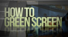 After Effects: How To Green Screen (Basic)