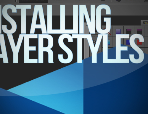 Photoshop: How To Install layer Styles