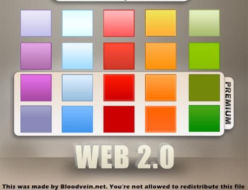 Photoshop Layer Style: Web 2.0