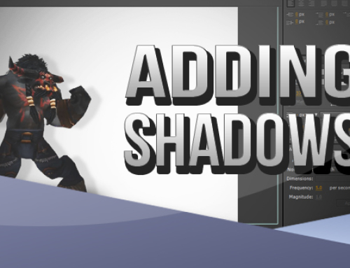 After Effects: Adding Shadows to WoW Characters