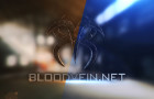 Bloodvein 3D Logo Wallpaper
