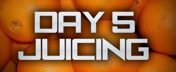 Day 5 of Juice Diet | Missed Breakfast Again…