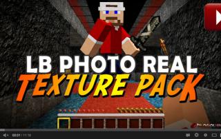 Minecraft LB Photo Realisim Texture Pack