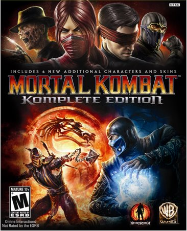 Mortal Kombat 2011 box art