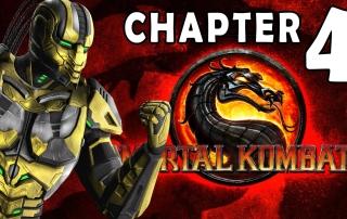 Mortal Kombat 9 2011 Story Mode Chapter 04 Cyrax