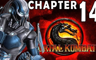 Mortal Kombat 9 2011 Story Mode Chapter 14 Cyber Sub-Zero