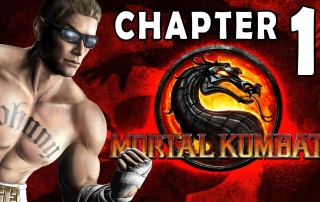 Mortal Kombat 9 Story Mode Chapter 01 Johnny Cage 1080P Gameplay Walkthrough