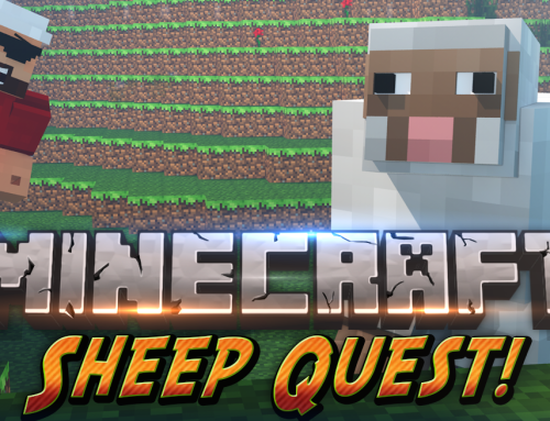 Minecraft Minigame | Sheep Quest | All Your Sheeples are MINE!