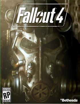 Fallout 4 box cover art bethesda