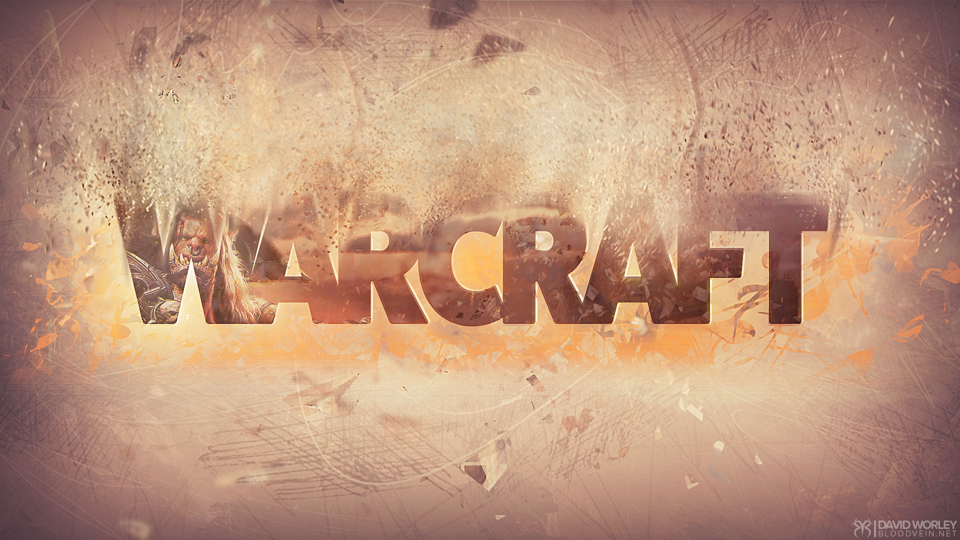 World of Warcraft Epic Text Wallpaper HD
