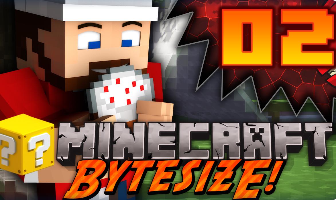 Minecraft | Bytesize Modded Survival #02 - bloodvein net
